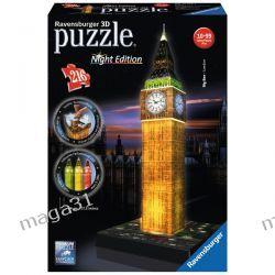 RAVENSBURGER PUZZLE 3D LONDYN ŚWIECĄCY BIG BEN LED