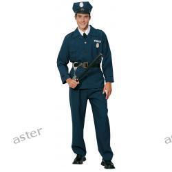 STRÓJ DLA DOROSŁYCH POLICJANT SUPER