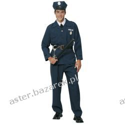 STRÓJ DLA DOROSŁYCH POLICJANT MUNDUR  Kostiumy męskie