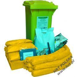 MZE-SCH-120L - mobilny zestaw ekologiczny - sorbenty chemiczne - 120L Przemysł