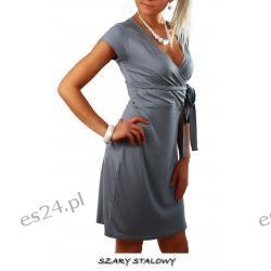 Seksowna sukienka wiązana