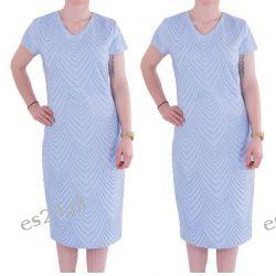 Śliczna sukienka Safira błękit 50