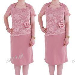 Śliczna sukienka Anita fiolet 50