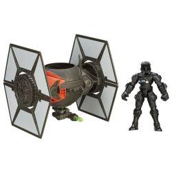 Star Wars pojazd TIE FIGHTER figurka pilota TYCHY
