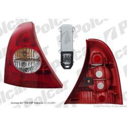 RENAULT CLIO II 01-  LAMPA TYLNA  LEWA