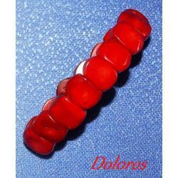 Bransoletka z czerwonego korala