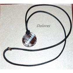 Wisiorek z kryształem Swarovskiego - 28 mm na rzemieniu Na rękę