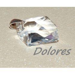 Srebrny wisiorek z kryształem Swarovskiego Komplety