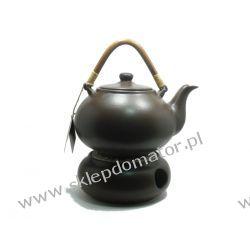 Dzbanek z podgrzewaczem - 1.7 litra - ciemny brąz