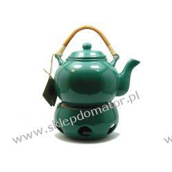Dzbanek z podgrzewaczem - 1.1 litra - zielony