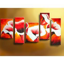 nowoczesne obrazy nowoczesney - komplet  Akryl