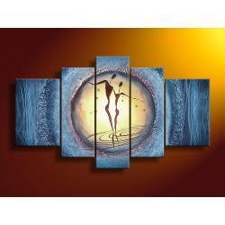"""""""heaven love"""" obrazy nowoczesne strukturalny na płótnie Akryl"""