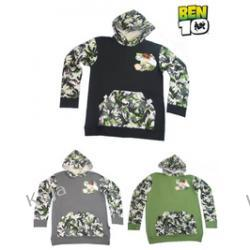 bluza chłopięca - ben 10 -z kapturem- 33626