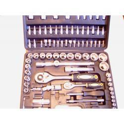 komplet kluczy nasadowych 94elementy