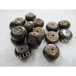 Bronzyt - oponka 14x8mm Biżuteria - półprodukty