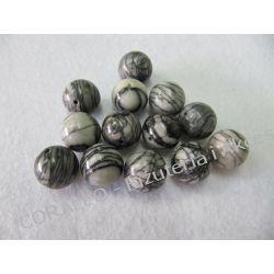 Jaspis picasso - kulka 12mm. Biżuteria - półprodukty