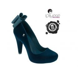 MELISSA *INCENSE LACO* blue flocked