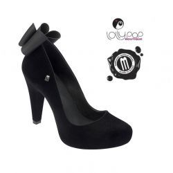 MELISSA *INCENSE LACO* black flocked