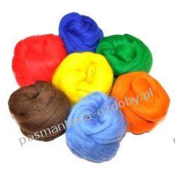WEŁNA DO FILCOWANIA 24mic 50g 56 kolorów Filcowanie