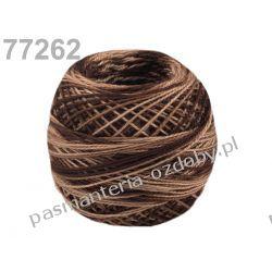 KORDONEK nici Perlovka OMBRE NITARNA 60x2 10g/85m - cieniowany brązowy Koraliki i cekiny