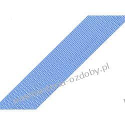 TAŚMA PARCIANA, NOŚNA 30mm (do toreb itp) 1m - błękitna Akcesoria i gadżety