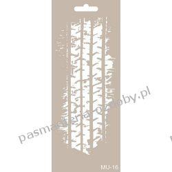 Szablon, Maska Mix Media 10 X 25 cm - MU16 Scrapbooking