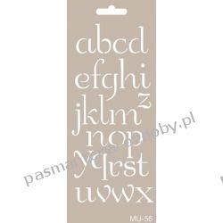 Szablon, Maska Mix Media 10 X 25 cm - MU56 Koraliki i cekiny