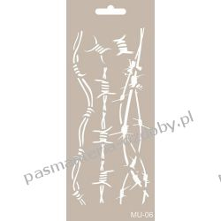 Szablon, Maska Mix Media 10 X 25 cm - MU06 Scrapbooking