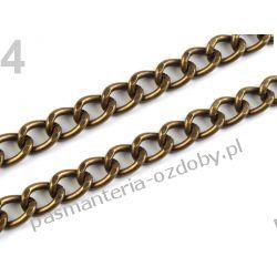 Łańcuszek 0,5x120 cm do torebek - kolor mosiądz