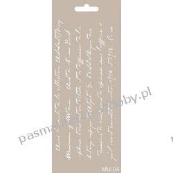 Szablon, Maska Mix Media 10 X 25 cm - MU04 Scrapbooking
