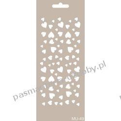 Szablon, Maska Mix Media 10 X 25 cm - MU49 Scrapbooking