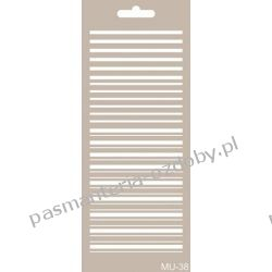 Szablon, Maska Mix Media 10 X 25 cm - MU38 Scrapbooking