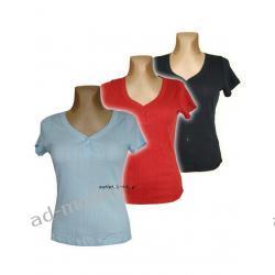 FOR WOMEN czerwona bawełniana bluzka 36