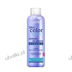 JOANNA Ultra Color System, Płukanka niebieska do włosów siwych, blond i rozjaśnianych 130 ml