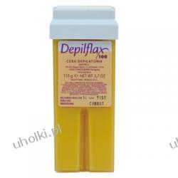 DEPIFLAX, Karotenowy wosk do depilacji, skóra opalona, wkład z rolką, 110g