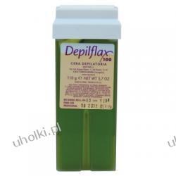 DEPIFLAX, Oliwka wosk do depilacji pach, bikini, wkład z rolką, 110g