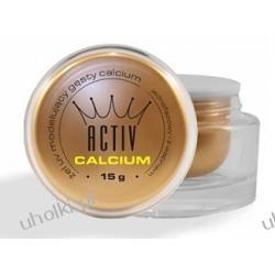 ACTIV Calcium, Bezbarwny, jednofazowy żel z wapniem do stylizacji paznokci, 30 ml