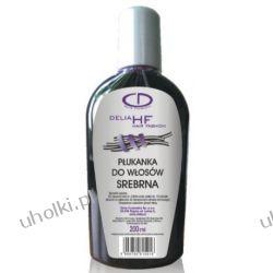 DELIA Hair Fashion, Srebrna płukanka do włosów siwych, blond, rozjaśnianych, 200 ml