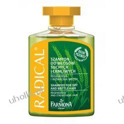 FARMONA Radical, Szampon wzmacniający, włosy suche, łamliwe, osłabione, 300 ml