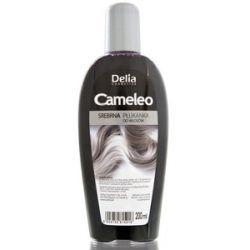 DELIA Cameleo, Srebrna płukanka do włosów siwych, blond, rozjaśnianych, 200 ml...