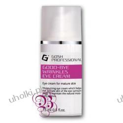 GOSH Good Bye Wrinkless Eye Cream, Przeciwzmarszczkowy krem pod oczy, 15 ml