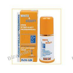 FLOS LEK White&Beauty Krem wybielający przebarwienia do twarzy i ciała