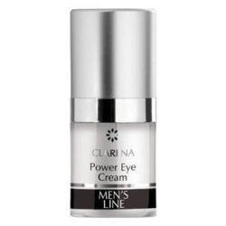 CLARENA Men Power Eye Cream, Krem pod oczy dla mężczyzn, 15 ml...