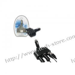 FSP (PL-A03TU) ŁADOWARKA SAMOCHODOWA 2 x USB + 2 x DC