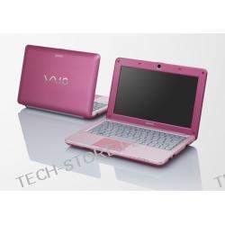 SONY VAIO VPC-W21S1E/P Atom N450 1GB 10,1 250GB NV3150 Win7 Starter (RÓŻOWY)