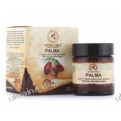 Masło Palmowe, Palm Oil, 25 ml 100% Naturalne, Włosy, Paznokcie Mydła