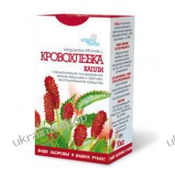 Krople Ziołowe Krwiściąg Lekarski (Sanguisorba officinalis L.) 50 ml, Trawienie Mydła