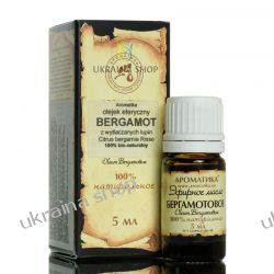 Olejek Bergamotowy, Bergamotka, 100% naturalny, 5 ml