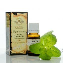 Olejek Miętowy (Mięta), 5 ml Aromatika Peppermint Essential Oil 100 % Naturalny  Mydła