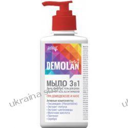 Mydło w Płynie 3 w 1 (Mydło, Szampon, Żel pod prysznic) DEMOLAN FORTE ®, Demodekoza, Trądzik